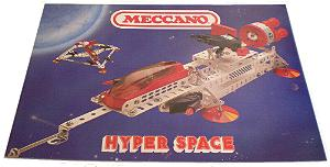 Meccano Hyperspace Set Model Book