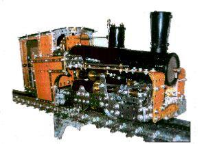 Snowdon Rack Railway Locomotive