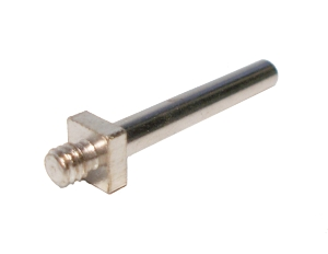 Threaded Pin 34mm with fixed nut, nickel