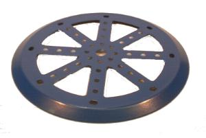 Half M019C Pulley, without boss (blue)