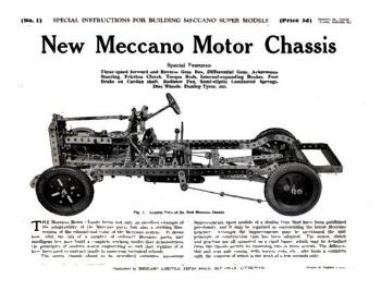 MOTOR CAR CHASSIS