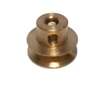 Pulley 13mm dia, brass
