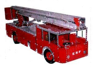 Hydraulic Platform Fire Engine (Set 10+ model)