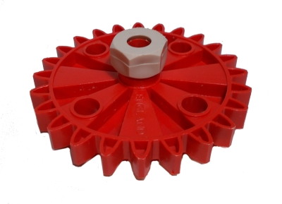 Gear Wheel (24 Teeth) with Collet Nut