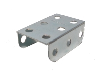 Flanged Plate, 3x2 holes, zinc