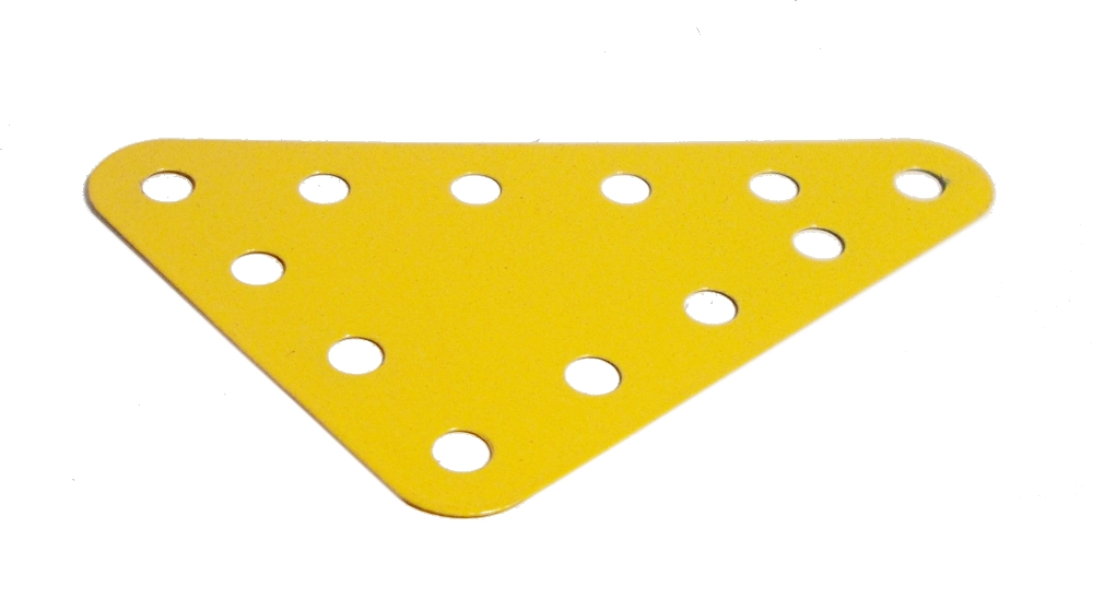 Triangular Plate 5x4 holes