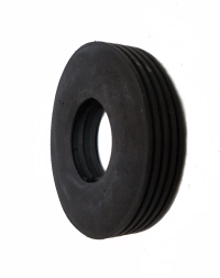 Wide Ribbed Tread Tyre for 2x38mm Pulleys