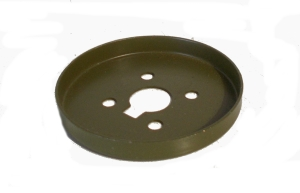 Army Green Wheel Flange