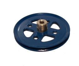 Pulley 50mm dia (blue) (used)