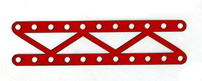 Narrow Braced Girder 11 holes