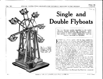 SINGLE & DOUBLE FLYBOATS