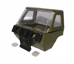 Army Green Cab - complete