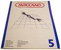 Meccano Set 5 Model Book