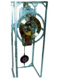 Precision Clock with Riefler Escapement