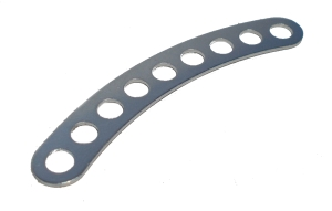 Multihole Narrow Curved Strip (5 holes equivalent length)
