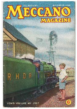 Meccano Magazine November 1949
