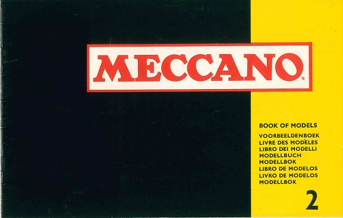 Meccano Set 2 Model Book