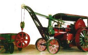 Burrell Crane Engine & Wagon (requires Model Plan 100)