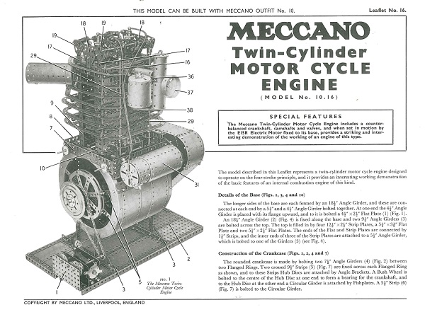 TWIN CYLINDER MOTORCYCLE ENGINE