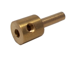 Adaptor for Screwed Rod with Cross Threaded Hole