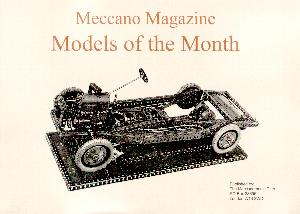 Meccano Magazine Models of the Month