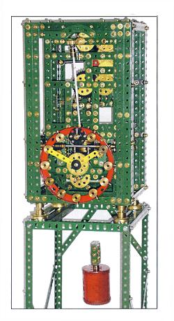 Descending Pendulum Clock