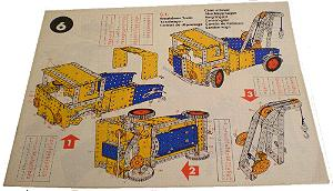 Meccano Set 6 Model Book
