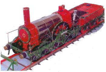 Iron Duke GWR 4-2-2 locomotive