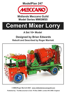 Cement Mixer Lorry  (Set10+ Model)