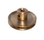 Pulley 25mm dia, brass