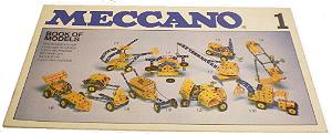 Meccano Set 1 Model Book