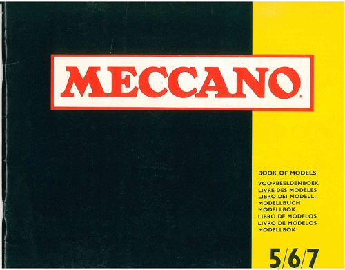Meccano Set 5/6/7 Model Book