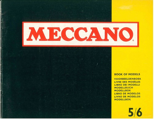 Meccano Set 5/6 Model Book