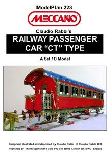 "Railway Passenger Car ""CT"" Type"