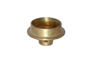 Flanged Wheel 19mm, brass (used)