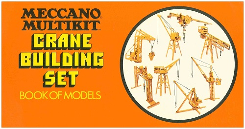Meccano Multikit Crane Set Manual