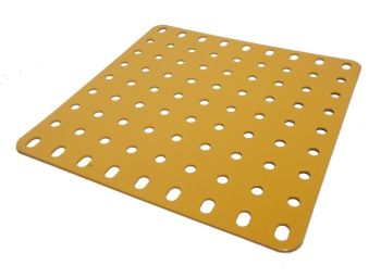 Flat Plate 9x9 holes (UK yellow)