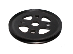 Pulley 50mm dia without boss (black)
