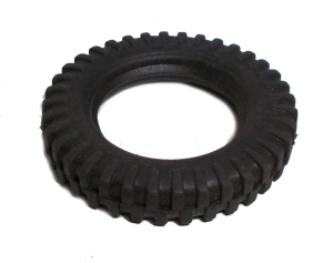 Wide Tread Tyre for 38mm dia Pulley