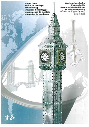 "Meccano ""Big Ben"" Model Set Model Book"