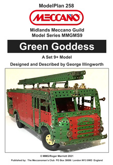 Green Goddess  Fire Engine  (Set 9+ Model)