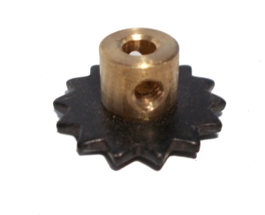 Sprocket Wheel 14T, 19mm dia