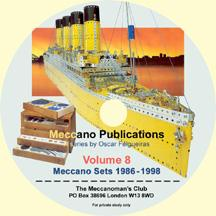 Meccano Publications on CD Volume 8 - Meccano Sets 1986 - 1998