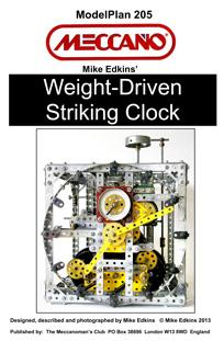 Weight-Driven Striking Clock