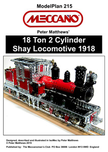 18 Ton 2 Cylinder Shay Locomotive 1918