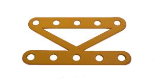 Narrow Braced Girder 5 holes