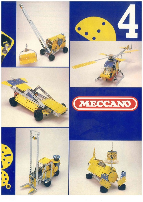 Meccano Set 4 Model Book