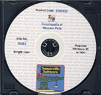 Encyclopedia of Meccano Parts on CD