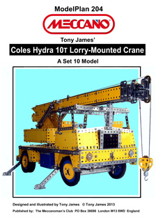 Coles Hydra 10T Lorry-Mounted Crane