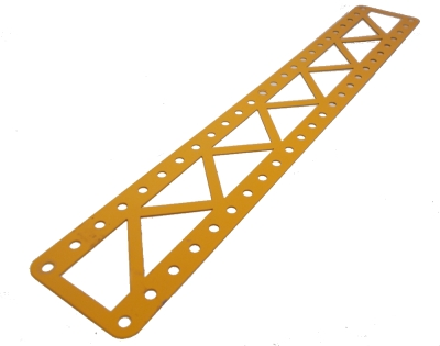 Braced Girder 25x5 holes, UK Yellow